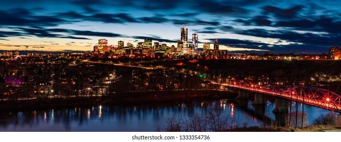Edmonton Downtown Panorama