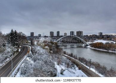 Edmonton Winter Landscape
