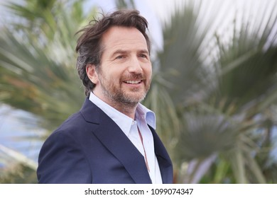 Edouard Baer attends the Master of Ceremony photocall during the 71st  Cannes Film Festival at Palais des Festivals on May 8, 2018 in Cannes, France.