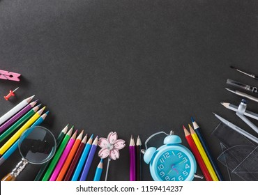 Education, Back to School concept with copy space.