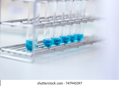 Education Biotechnology and Experiment chemical in the laboratory.