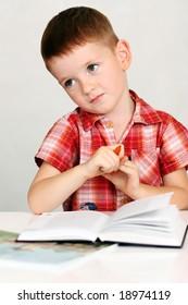 education boy