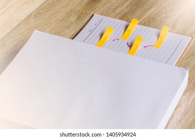Education concept, paperwork and wooden backgrounds.learning in twenty-One century. Knowledge management. Innovation active for student.selective focus image.