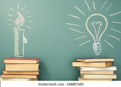 Education idea about history and development of civilization and science