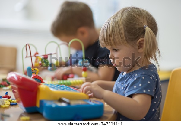 Education and play in kindergarten