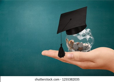 Education scholarship student icon investment money academic