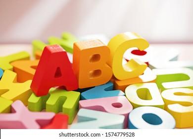 Educational Alphabet for children's education