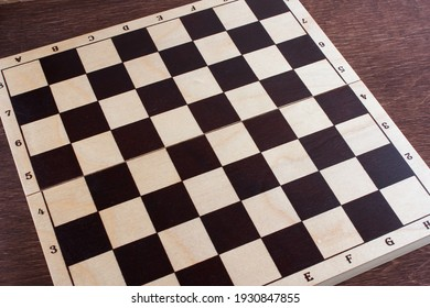 educational chess board, selective focus