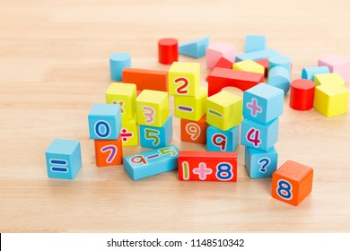Educational Wooden Toys For Math learning toys for children Development Practice