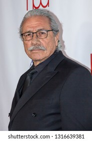 Edward James Olmos arrives at the 2019 Hollywood Beauty Awards at Avalon Hollywood in Los Angeles, CA on February 17, 2019.