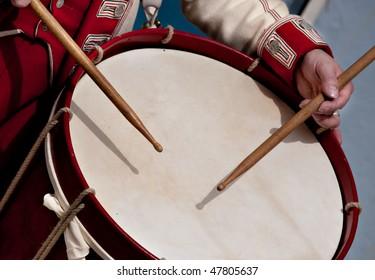 Edwardian drummer