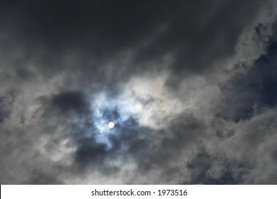 eerie sky