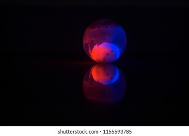 effect of colorful light