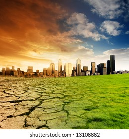 Effect of Global Warming on a city