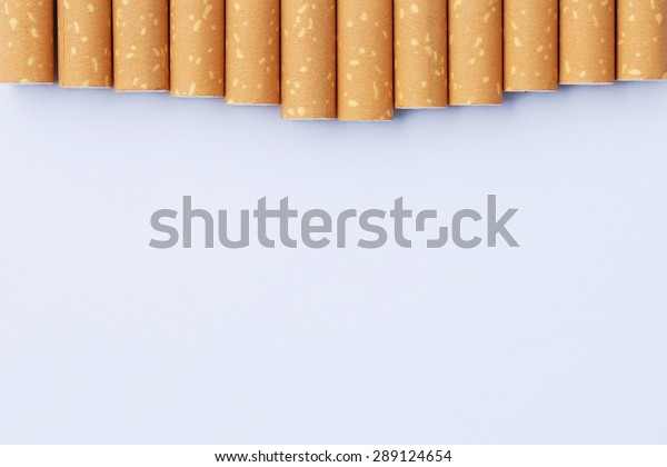 effect from nicotine concept, cigarette's in the form of tooth. Part of a tooth health series