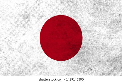 Effects of Japon Flag, Flag Effect on Wall, Japon Flag