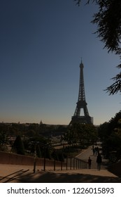 effel tower is top of the landmark in paris