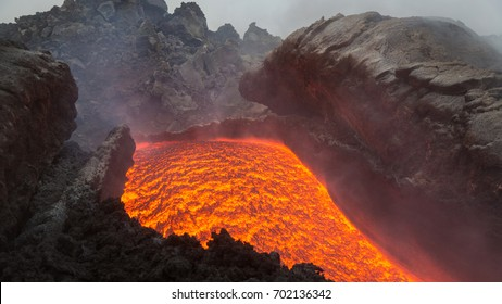Effusive Activity at Mount Etna Volcano