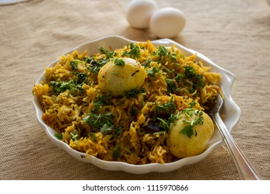Egg biryani is a quick, flavourful and delicious rice based dish from India.