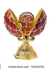 egg casket copy of Faberge