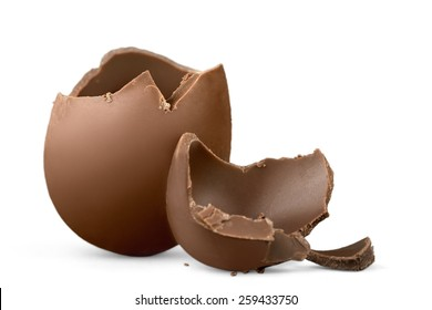 Egg, easter, broken.
