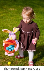 Egg hunt is a game during which decorated eggs, real hard-boiled ones or artificial, filled with or made of chocolate  candies, of various sizes, are hidden in various places for children to find.