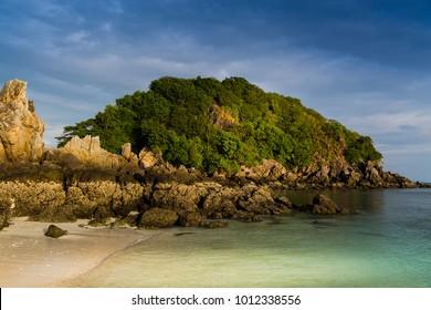 Egg Island Thailand in evening