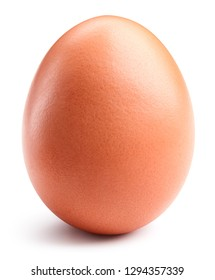 Egg isolated on white background. Egg Clipping Path