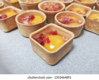 egg with jam