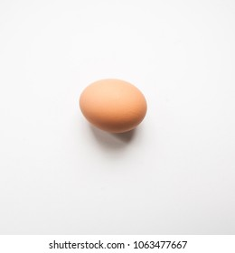 egg on a white background.