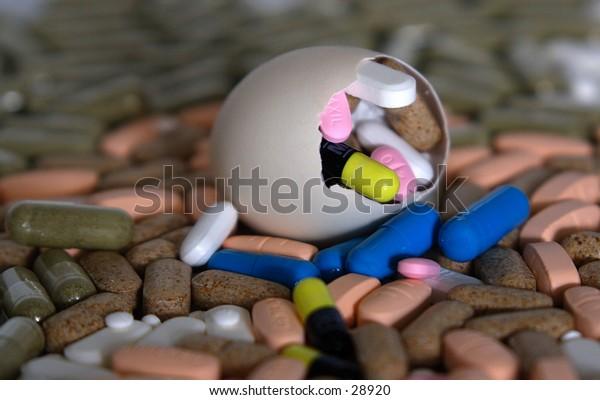 egg shell pills