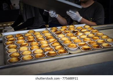 The egg tart set