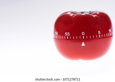 Egg timer mockup in the form of a tomato isolated