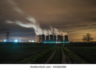Eggborough Power Station Night