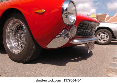 eggenburg, austria, 19 june 2005, viva italia classic rallye, competition for vintage italian cars
