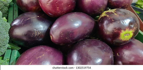 Eggplant, aubergine, or brinjal is a plant species in the nightshade family