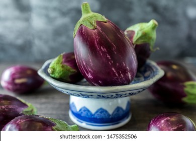 Eggplant, aubergine, or brinjal is a plant species in the nightshade family Solanaceae