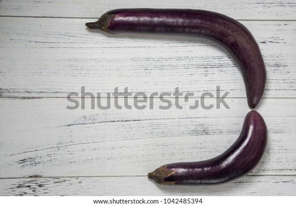 eggplant closeup image