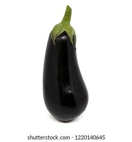 Eggplant. Isolated on white background