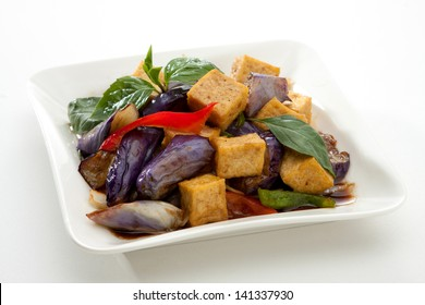 Eggplant Stir Fried with Tofu