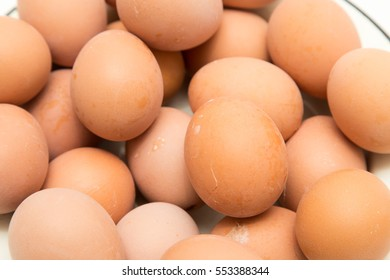 eggs as a background