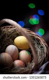 Eggs Easter homemade
