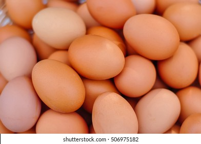 Eggs on background.