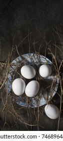eggs in plate