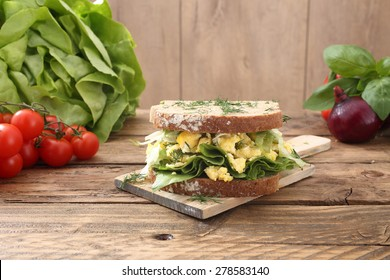 eggs salad sandwich