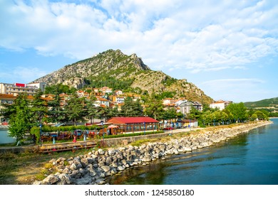 Egirdir is a city built on the slopes of the mountains and integrated with nature. It is surrounded by mountains and that feature makes it very attractive of Egirdir. June 2018 Isparta-Turkiye
