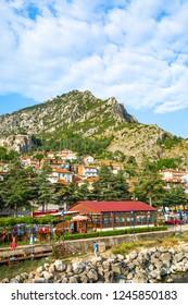 Egirdir is a city built on the slopes of the mountains and integrated with nature. Egirdir is a nice borough of Isparta. June 2018 Turkiye
