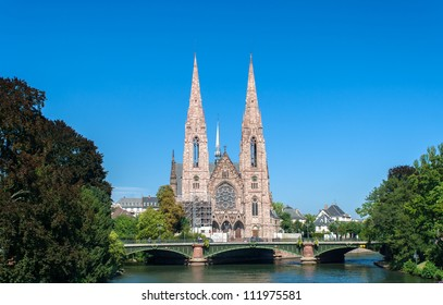 Eglise (church) Saint-Paul in Strasbourg, France