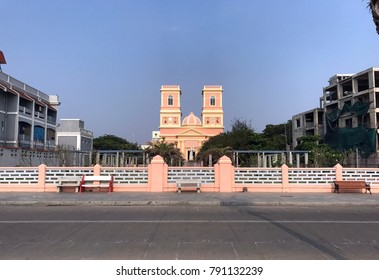 Eglise de Notre Dame des Anges, Puducherry, India