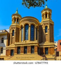 Eglise Notre Dame Des Victoires - a Roman Catholic church in San Francisco, California.